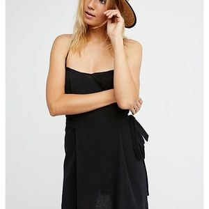 Melt your heart mini dress black by Free People